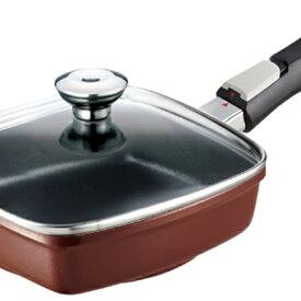 【ふるさと納税】ローストパンゼロクリア21(ショコラ) 【調理器具・キッチン用品・フライパン】