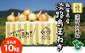 【ふるさと納税】\うまい玉ねぎできたでー/ケンちゃんファームの特別栽培玉ねぎ10kg〜ひょうご安心ブランド認証取得〜