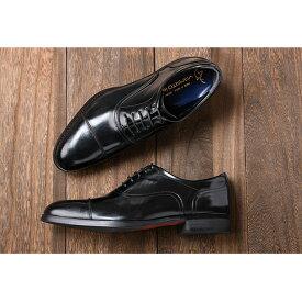 【ふるさと納税】倭イズム 牛革マッケイビジネスシューズ紳士靴 YAP400(ブラック) 【ファッション・靴・シューズ・革製品・革靴】