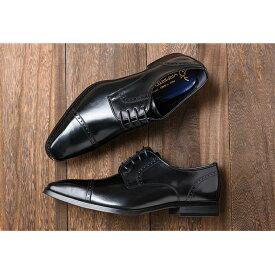 【ふるさと納税】倭イズム 牛革マッケイビジネスシューズ紳士靴YAP500(ブラック) 【ファッション・靴・シューズ・革製品・革靴】