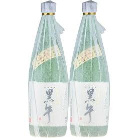 【ふるさと納税】(E003)紀州和歌山の純米吟醸酒 黒牛(くろうし)720ml/2本セット/名手酒造