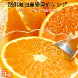 【ふるさと納税】■とにかくジューシー清見オレンジ 5kg※2021年3月下旬頃〜4月下旬頃に順次発送予定