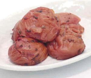 【ふるさと納税】《紀州南高梅》しそかつお梅干し つぶれ梅(はちみつ入り)(ご家庭用) 1kg