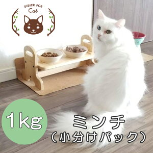 【ふるさと納税】A88 森のジビエ for PET 鹿肉ミンチ(小分けパック) 1kg