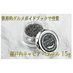 【ふるさと納税】瀬戸内キャビア 15g 【魚貝類・加工品】