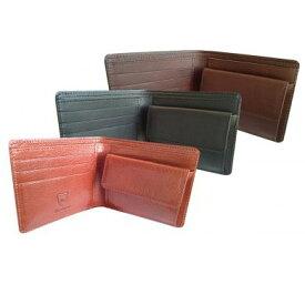 【ふるさと納税】日本製2つ折り革財布(栃木レザー) 【ファッション小物・財布・雑貨・革製品・レザー】