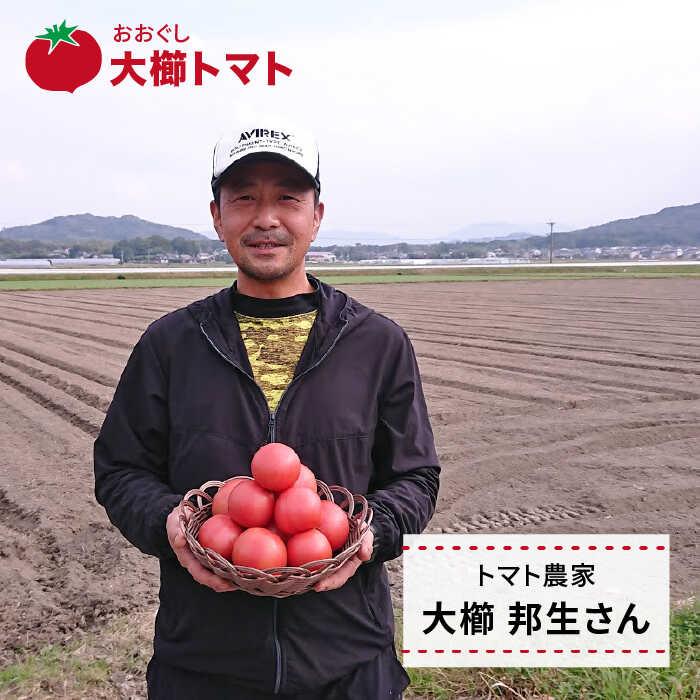 【ふるさと納税】甘くて濃厚!糸島産大玉トマト2kg【大ぐしトマト】[AQH001]