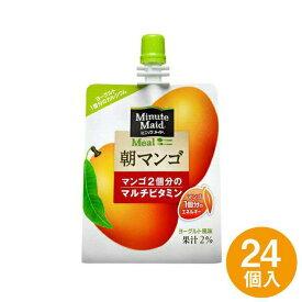 【ふるさと納税】ミニッツメイド 朝マンゴー 1ケース24個 ARA006