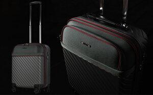 【ふるさと納税】AY181 [amant-AVANT] フロントオープン EVA スーツケース 機内持ち込み S (グレー) [10027]