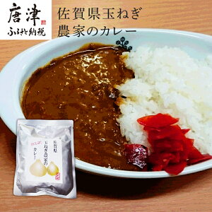 【ふるさと納税】 佐賀県玉ねぎ農家のカレー