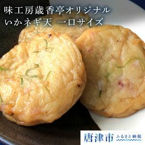 【ふるさと納税】 味工房歳香亭オリジナル いかネギ天//一口サイズ