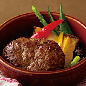 【ふるさと納税】長崎和牛&長崎SPF豚のステーキハンバーグ