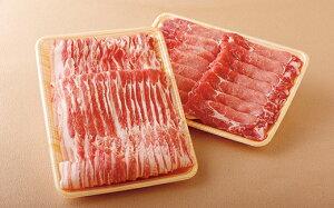 【ふるさと納税】長崎県産上豚スライス肩ロース(500g)・豚バラ(500g)