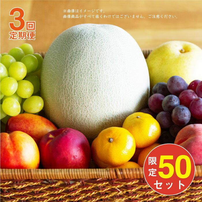 【ふるさと納税】BAJ001 【全3回定期便】季節のフルーツ盛り合わせ【人気につき50セット追加!】