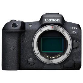 【ふるさと納税】キヤノンミラーレスカメラEOS R5・ボディー 家電 写真 正規品 高画質 高感度 フルサイズミラーレス一眼 Canon キャノン
