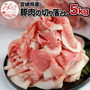 【ふるさと納税】宮崎県産豚肉切り落とし合計5kg(冷凍500g×10パック)