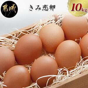 【ふるさと納税】新鮮赤卵「きみ恋卵」10kgセット - 健康な鶏から生まれた、取れたて新鮮たまごの180個セットです。玉子焼きなど、お料理にはもちろん、ケーキなどのお菓子作りにも最適で