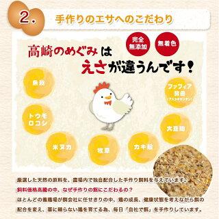 アスタキサンチン入り赤卵「高崎のめぐみ」50個