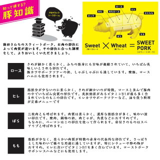 都城産「前田さん家のスウィートポーク」肉肉肉4kgセット