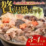 【ふるさと納税】『みやざき地頭鶏』&『宮崎ひなたスッポン』贅沢鍋セット(3~4人前・特製だし汁付き)鶏肉鶏肉