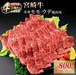 黒毛和牛と豚の焼肉セット計800g(400g×2パック)