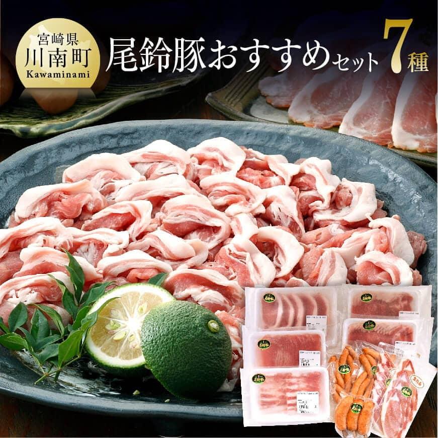 【ふるさと納税】人気の「ななつ星in九州」採用!!お得な尾鈴豚セット