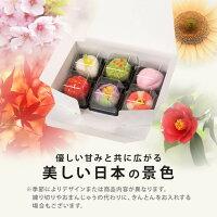 【ふるさと納税】季節の上生菓子6個入り