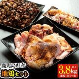 【ふるさと納税】薩摩地鶏Bセット【地どりのたけちゃん】