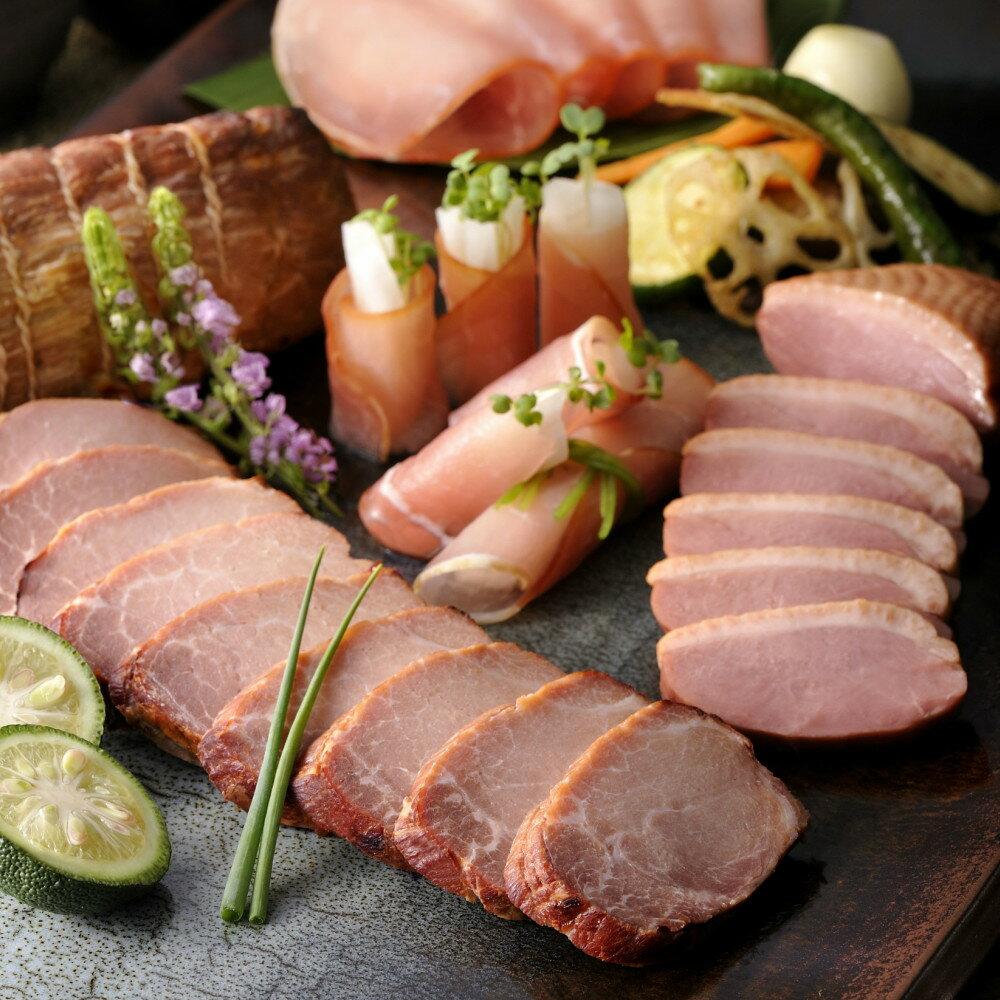 【ふるさと納税】■マイスター山野井 黒豚焼豚と黒毛和牛ローストビーフセット