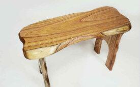 【ふるさと納税】【家具職人が天然木で作りあげた】原木椅子