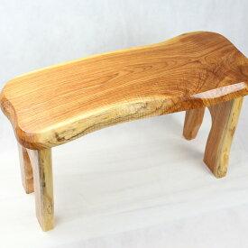 □【ふるさと納税】【家具職人が天然木で作りあげた】原木椅子