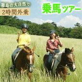 【ふるさと納税】乗馬トレッキング2時間コース乗馬体験チケット【霧島アート牧場】