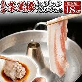 【ふるさと納税】鹿児島産ブランド豚!茶美豚しゃぶしゃぶとんかつ(総1.8kg)【湧水町JAあいら】