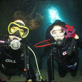 【ふるさと納税】ボートで行く『青の洞窟&クマノミポイント』本格!体験ダイビング2本(3名様)