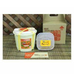 【ふるさと納税】久米島たいらの味噌 あんだみすーと味噌3kg樽セット