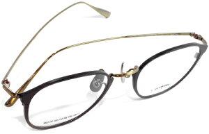 【 おしゃれ メガネ 】59HYSTERIC 《 SARTRE 》 ゴーキューヒステリック サルトル [眼鏡][メガネ][ウェリントン][メタルフレーム][チタン板抜き][クラシック][日本製][福井県鯖江産] 伊達眼鏡 伊達メ