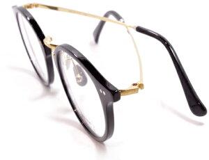 【 おしゃれ メガネ 】59HYSTERIC 《 WINEHOUSE 》 ゴーキューヒステリック ワインハウス [眼鏡][メガネ][丸メガネ][コンビフレーム][クラシック][日本製][福井県鯖江産] 伊達眼鏡 伊達メガネ メンズ