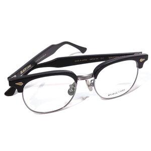 【 おしゃれ メガネ 】BLAZECORE 《 MAYONNAISE 》ブレイズコア マヨネーズ [眼鏡][メガネ][サーモント][コンビフレーム][クラシック][日本製][福井県鯖江産] 伊達眼鏡 伊達メガネ メンズ レディース