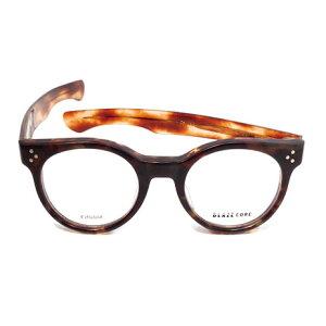 【 おしゃれ メガネ 】BLAZECORE 《 SACK2 》ブレイズコア サックツー [眼鏡][メガネ][丸メガネ][セルロイド][クラシック][日本製][福井県鯖江産] 伊達眼鏡 伊達メガネ メンズ レディース 男女兼用