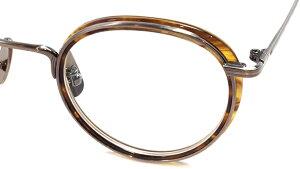 【 おしゃれ メガネ 】STANCEYRAMARS《 M88 》スタンシーラマーズ [眼鏡][メガネ][ボストン][コンビフレーム][インナーリム][チタン][クラシック][日本製][福井県鯖江産] 伊達眼鏡 伊達メガネ メンズ
