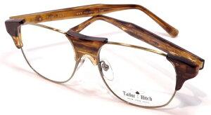 【 おしゃれ メガネ 】TailorHitch《 PATTERN X-03 》テイラーヒッチ パターン エックスゼロサン [眼鏡][メガネ][ウェリントン][コンビフレーム][クラシック][ユニーク][日本製][福井県鯖江産] 伊達眼