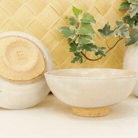 粉引クラウド 飯碗 (白) 美濃焼 水漏れ防止加工 茶碗 シンプル 和モダン ギフト プレゼント 【あす楽対応】