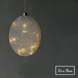 LEDライト GLASS フロスト アイスフラワー ムーン L オーナメント 飾り 装飾 インテリア インテリア雑貨 【あす楽対応】