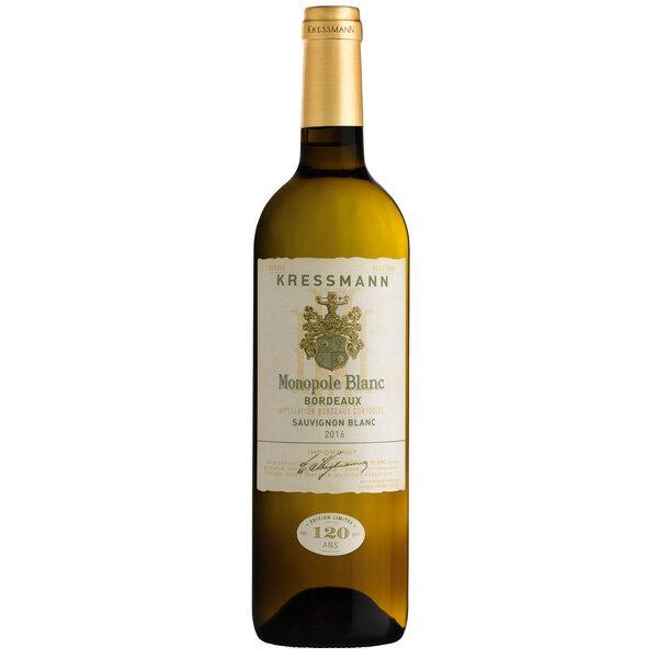 【新商品】クレスマン モノポール 白ワイン フランスワイン 辛口 ソーヴィニヨン・ブラン バレンタイン2019