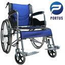 【即納】ポルタス・バディー 車椅子 軽量 折り畳み車いす 車イス ブレーキ 自走 送料無料 介助用 介護用品 お年寄り …