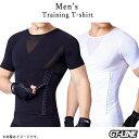 メンズ 加圧 Tシャツ 補正下着 猫背サポーター 調整可能 腹筋 加圧インナー 半袖 お腹引き締め コンプレッションウェ…