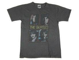 【中古】The Beatles/ビートルズ バンドTシャツ チャコール フォトプリント 【サイズ:S位】【バンドT】【フェス系】【アメカジ】【あす楽】【古着屋mellow楽天市場店】