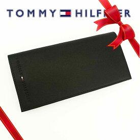 トミーヒルフィガー Tommy Hilfiger メンズ サイフ 長財布 [31TL19X006/92-4857/01BK]