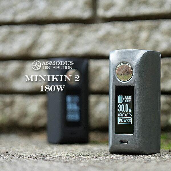ASMODUS vape アスモドス アスモダス ミニキン MINIKIN2 バッテリー2本タイプ designed by USA Minikin V2 180W Touch Screen Mod 本体