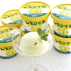 <レモン牛乳アイス カップ12個セット>心地よい甘味とレモンの香りが爽やかな素朴でどこかなつかしさを感じる美味しさ[全国送料無料] [栃木県産品宇都宮市] FN020